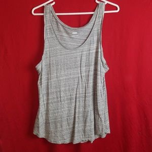 Women's Old Navy Gray Tank Top Size Large